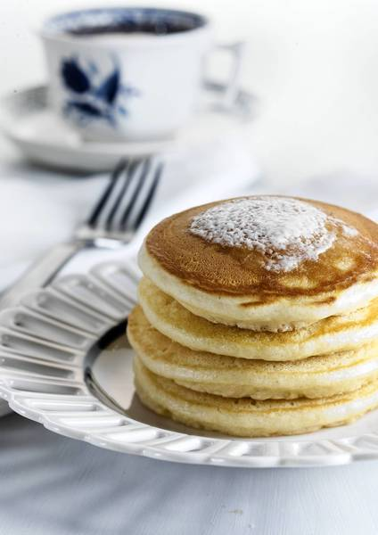 Substitute holiday egg nog for milk in pancake and French toast batters.