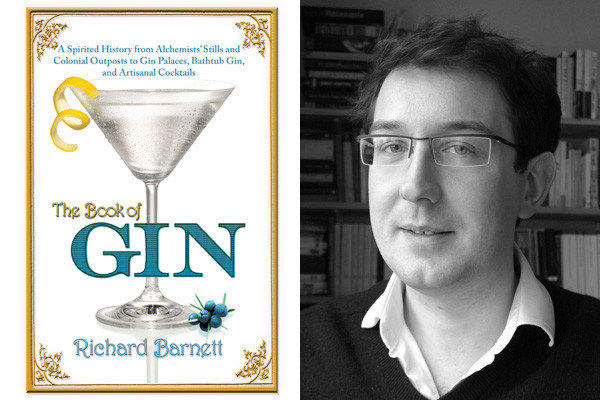 """The Book of Gin"" and author Richard Barnett."