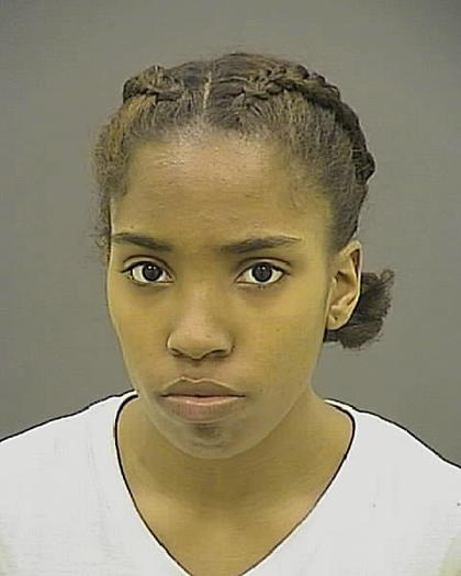 Asia Cutler, 22, has been charged in the Aug. 30 killing of boyfriend Donte Harris in Northwest Baltimore