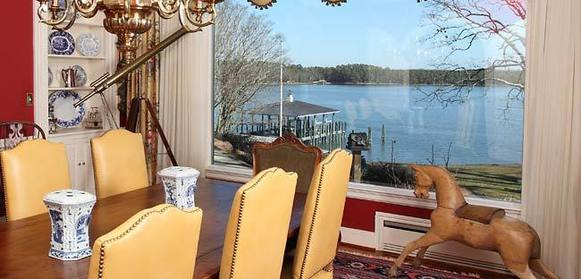 This waterfront estate at 8495 Freewelcome Lane, Gloucester, is on the market for $4,900,000.