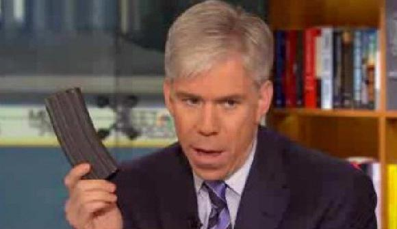 David Gregory under investigation by D.C. police for holding gun clip on air