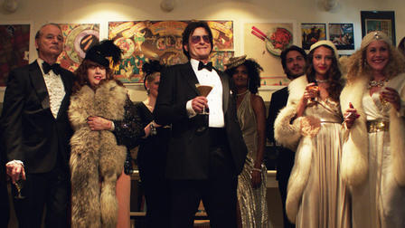 "Charlie Sheen, center, stars in ""A Glimpse Inside the Mind of Chrles Swan III,"" directed by Roman Coppola."