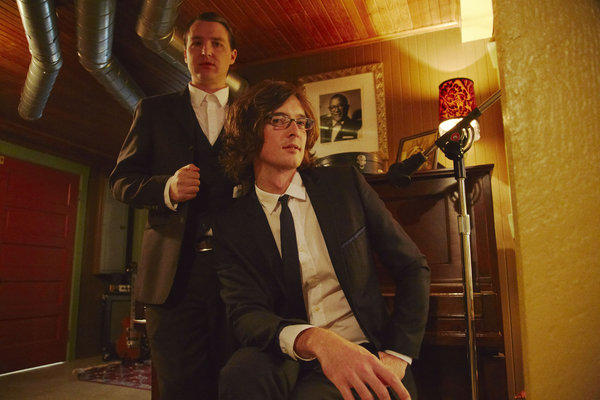 Kenneth Pattengale, left, and Joey Ryan of the Milk Carton Kids.