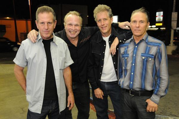 Singer Phil Alvin, second from left, in a 2009 promotional photo with current lineup of the roots-rock band the Blasters.
