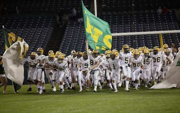 The Edison High football team captured the CIF Southern Section Southwest Division championship.