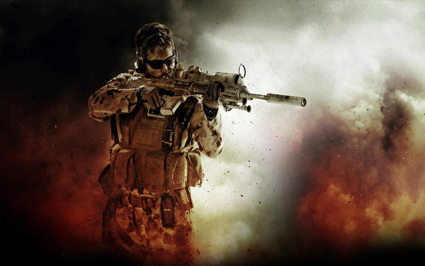 "<b>Medal of Honor: Warfighter</b> <br>There's a tough-looking dude on the box from ""Medal of Honor: Warfighter"" who holds a sniper rifle. You play as a squad of Navy Seals in dangerous foreign countries. Is it really necessary to specify that this game is one in which you're fighting wars? It's not like we thought you'd negotiate a peace treaty with the UN in a first-person shooter. What's next, ""Call of Duty: Combat Combatant"" or ""Warfighter II: War Warrior?"""