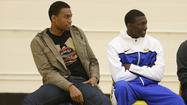 <strong>Russell Woods</strong> made <strong>Jabari Parker</strong> work for his baskets Wednesday at Simeon's tune-up for the Pontiac Holiday Tournament.