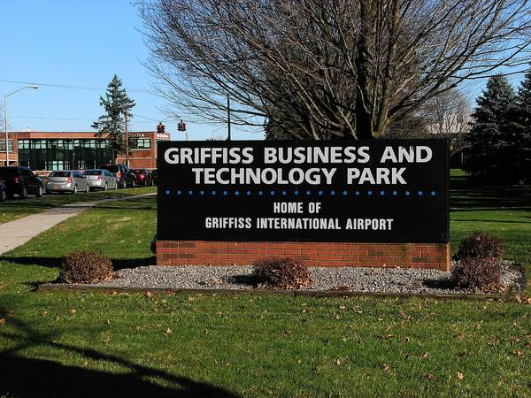 former Griffiss Air Force base is now a business and technology park.