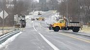 Wintry mess a headache for Harford drivers Wednesday; snow plow knocks out power at jail