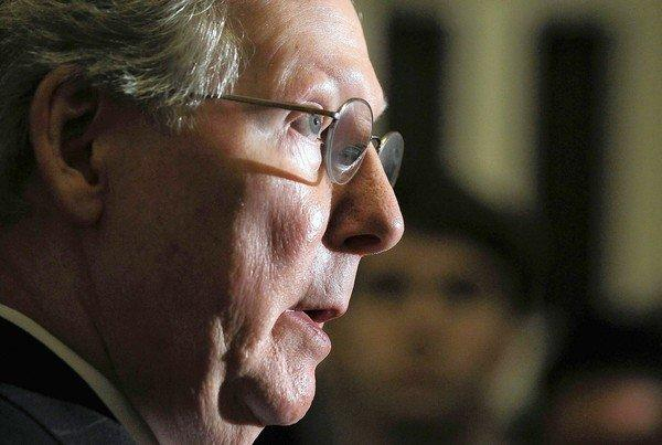 "Senate Minority Leader Mitch McConnell faces a reelection campaign in 2014. Compromising with Democrats to avoid the ""fiscal cliff"" could alienate conservative voters."