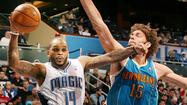 Pictures:  Orlando Magic vs. New Orleans Hornets