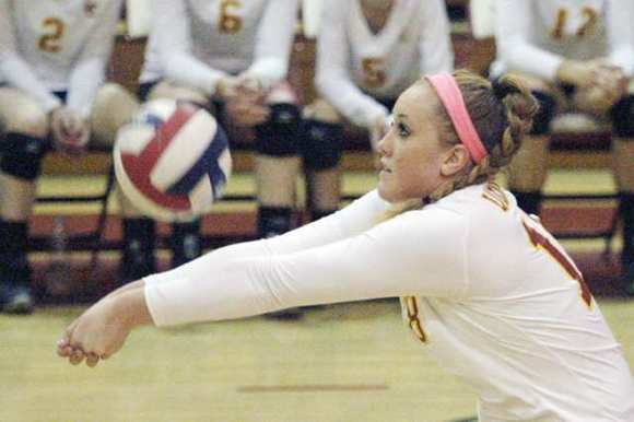 ARCHIVE PHOTO: La Canada's Micaela Anderson finished with 385 kills, 153 digs, 44 aces and 27 blocks and was named the Rio Hondo League's co-Most Valuable Player.