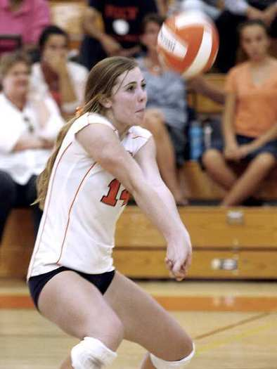 ARCHIVE PHOTO: Pasadena Poly sophomore DeeDee Logan finished with 317 kills and 340 digs and was named to All-Prep League and All-CIF first team.