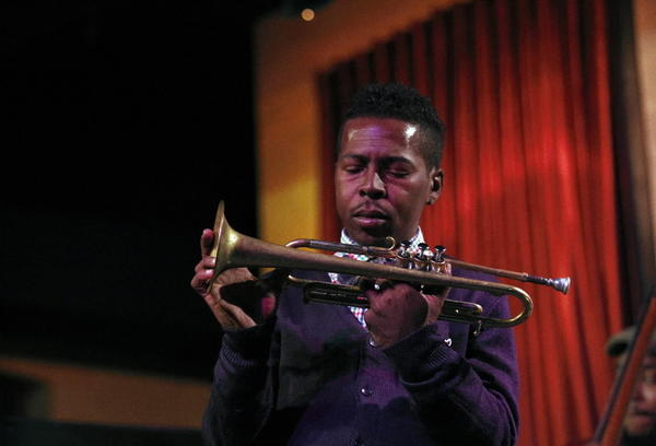 Grammy-winning trumpeter Roy Hargrove performs at Jazz Showcase on Tuesday.