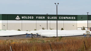 No. 5: No labor cuts foreseen at Molded Fiber Glass