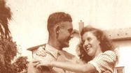 A soldier tells his girl how he fared in WWII