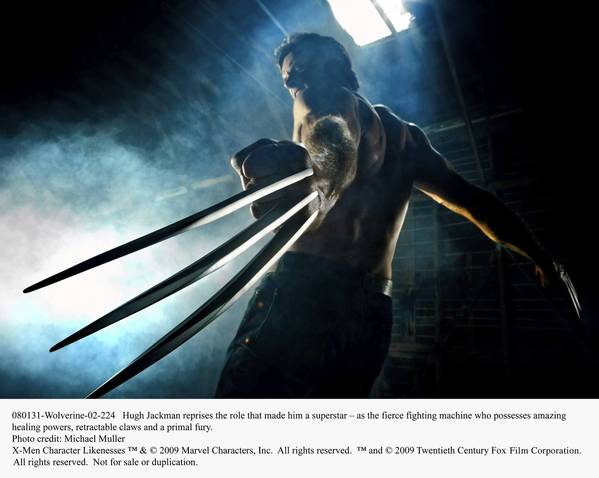 Hugh Jackman reprises the role that made him a superstar – as the fierce fighting machine who possesses amazing healing powers, retractable claws and a primal fury in: X-Men Origins: Wolverine