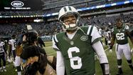 The wheel o' Jets quarterbacks has been given a spin this week, and the pointer has landed on: Mark Sanchez. That makes it 16 weeks in a row that Tim Tebow will start the game on the bench.