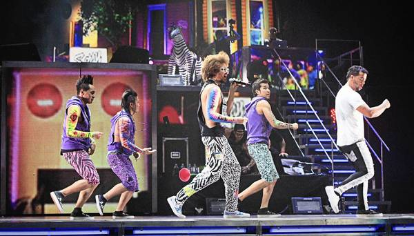 LMFAO's performance on June 23 at Amway Center was one of the year's big arena shows.