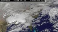 A storm sweeping through the Northeast continues to cause the delay and cancellation of thousands of flights.