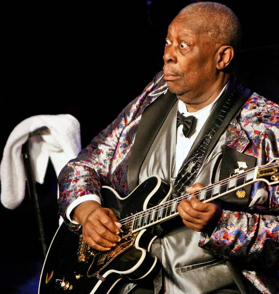 B.B. King will perform Jan. 1 at Hard Rock Live.