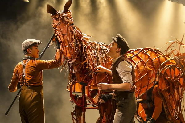 The play by The National Theatre of Great Britain and the Handspring Puppet Theatre of South Africa has arrived in Chicago, taking a children's story by Michael Morpurgo about a young man and his beloved horse amid the horrors of World War I and turning it into a deeply moving theatrical production that's worthwhile for the whole family.