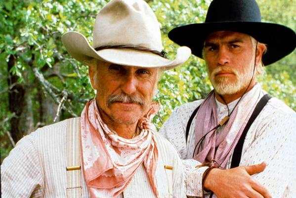 """Lonesome Dove,"" a TV miniseries with Robert Duvall and Tommy Lee Jones, has a lot going for it."
