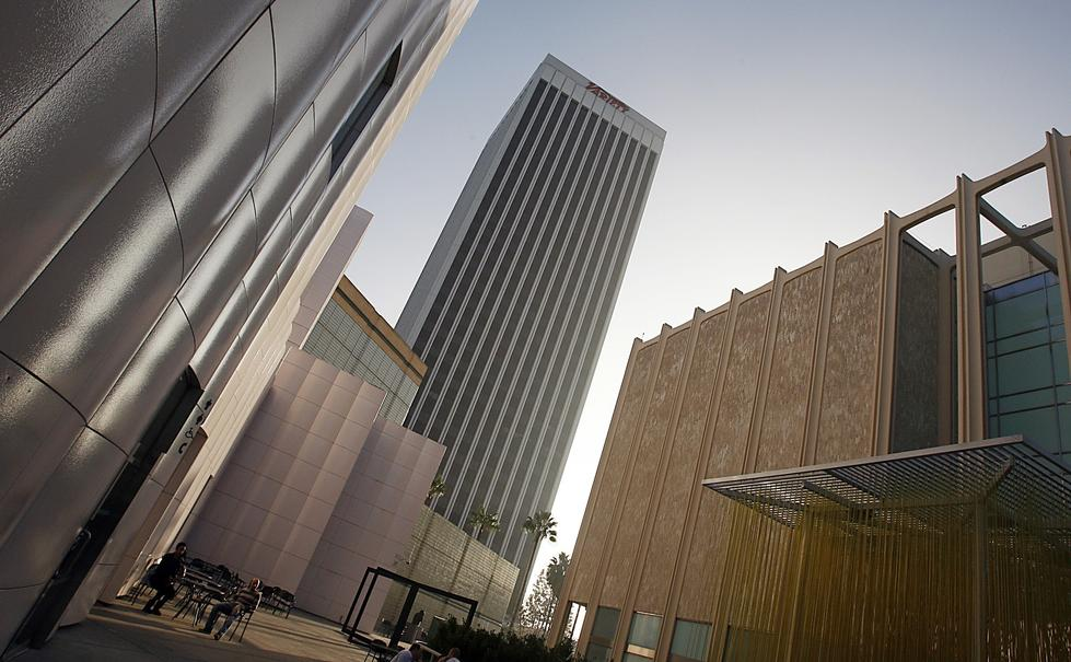 The Los Angeles County Museum of Art's campus on Wilshire has been considered hard to get to by car, but it will be more central when the Purple Line subway is built in about 10 years. (Luis Sinco / Los Angeles Times)