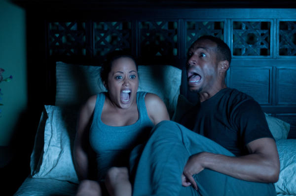 After Keisha (Essence Atkins) moves in with her boyfriend Malcolm (Marlon Wayans, who wrote the script), their house appears to be haunted.