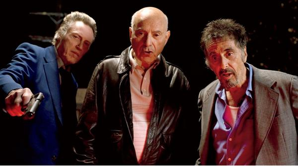 "Most people would want to watch Al Pacino, Christopher Walken and Alan Arkin just hanging out. In ""Stand Up Guys,"" they're veteran con men reuniting for, yes, one last job. What a novel idea. <br>What's new: Um, it's rare that the opening night film at the Chicago International Film Festival doesn't screen for review beforehand. That was the cast in 2012 with ¿Stand Up Guys.¿ <br>What's not: Probably everything."