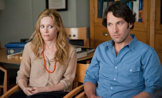 "Leslie Mann and Paul Rudd in ""This Is 40."""