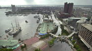 Could climate change mean more Inner Harbor floodiing?