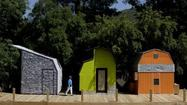 Woodbury architecture students turn sheds into cool little cabins