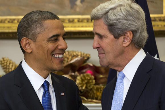 President Obama and Sen. John Kerry