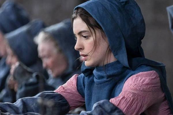 "Anne Hathaway stars in ""Les Miserables."""