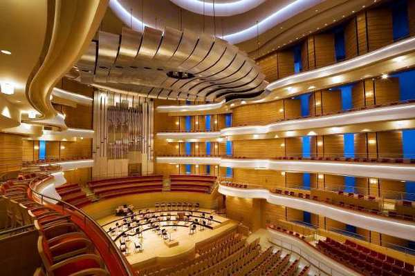 The Renee and Henry Segerstrom Concert Hall at the Segerstrom Center for the Arts.