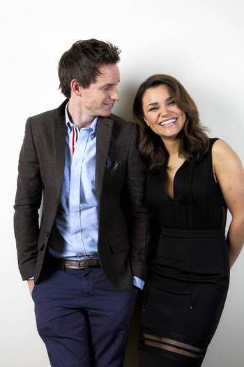 Samantha Barks and Eddie Redmayne