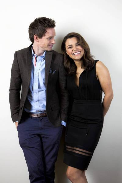 "Actors Samantha Barks and Eddie Redmayne are among the cast ""Les Miserables,"" opening on Christmas."