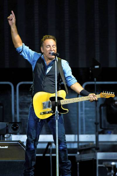 Bruce Springsteen's concert at Citizens Bank Park, Philadelphia, was among music writer John Moser's top 10 concerts of 2012.