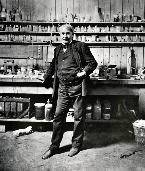 In his New Jersey laboratory, in 1879, Thomas Edison invented the incandescent light bulb, now targeted for replacement by more expensive devices.