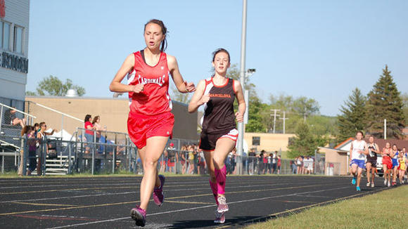 J-L harrier Meredith DeLuca ran away with three school records and the Herald Times Female Athlete of the Year Award.