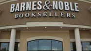 Bookstore chain Barnes & Noble said Friday its holiday sales look disappointing and that publisher Pearson Plc took a 5% stake in its Nook e-reader business.