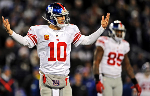 Quarterback Eli Manning and the Giants are a long shot to make the NFL playoffs, but they still have a chance heading into Week 17.