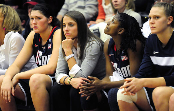 The last time the UConn women visited Stanford - in 2010 - things did not end well for the Huskies.