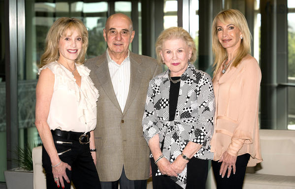 "Alice Abrams, left, Bob Abrams, Dee Botnick and Barbara Bloch promote the United States Holocaust Memorial Museum's annual ""South Florida Luncheon,"" which will take place Jan. 28 at Boca West Country Club. The luncheon will feature keynote speaker Gerda Weissmann Klein, a Holocaust survivor."