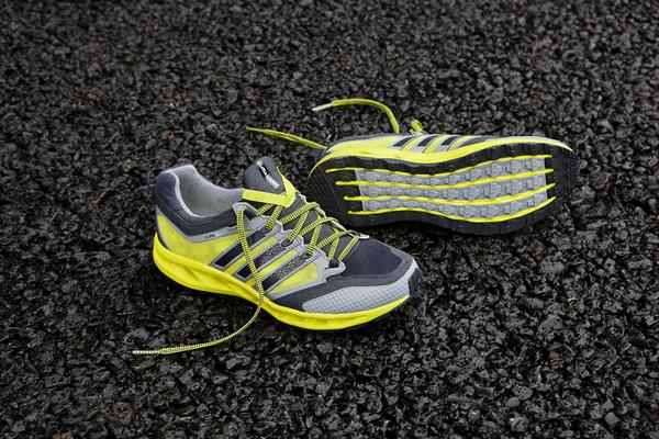 Good cushioning and breathable material make this shoe work well for winter.
