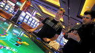 Casino's first early morning draws small, dedicated crowd