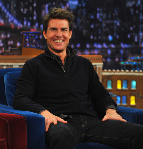 "Is Tom Cruise healing his heart with a new girlfriend, so soon after being bounced by Katie Holmes?  So it seemed when In Touch reported Wednesday that the 50-year-old ""Jack Reacher"" star was spotted out at a New York nightclub a week before Christmas, hitting the dance floor with a woman half his age.  ""At one point, they began grinding together,"" a witness told the mag. ""It was straight out of 'Dirty Dancing.' Tom seemed to be in his own world, completely smitten.""  <br><br> <strong>Full story:</strong> <a href=""http://www.latimes.com/entertainment/gossip/la-et-mg-tom-cruise-new-girlfriend-cynthia-jorge-20121227,0,1222735.story"">Does a little dirty dancing mean Tom Cruise is romancing?</a> 