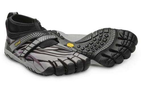 The water-repellent upper will keep minimalist-shoe runners happy when running through wet streets.