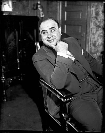 Al Capone, October 1931